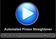 Automated Pinion Straightener : A Movie by Pegasys System Pvt Ltd