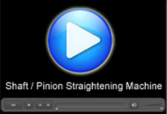 Shaft/ Pinion Straightening Machine: A Movie by Pegasys System Pvt Ltd.