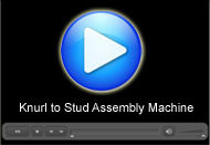 Knurl to Stud Assembly Machine : A Movie by Pegasys System Pvt Ltd.