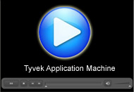 Tyvek Application Machine : A Movie by Pegasys System Pvt Ltd.