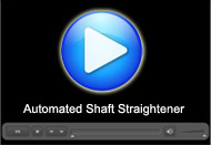 Automated Shaft Straightener : A Movie by Pegasys System Pvt Ltd