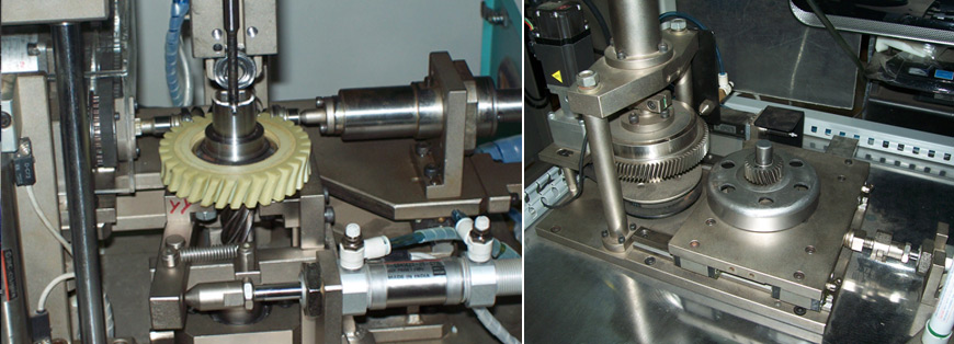 shaft straightening machine